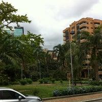 Photo taken at Parque Las Palmas by Maria Fernanda R. on 4/6/2012