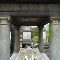 Photo taken at Montmartre Cemetery by Kenan N. on 4/22/2012