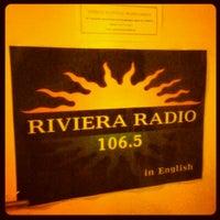 Photo taken at Riviera Radio by Iarla B. on 5/2/2012