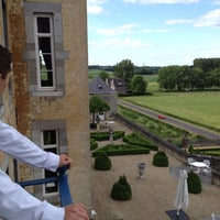 Photo taken at Château Neercanne by Roy on 6/8/2012
