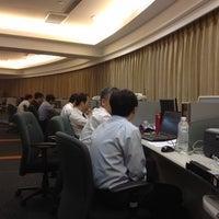 Photo taken at 台灣証券交易所 TWSE (南海路) by Lucas F. on 6/14/2012
