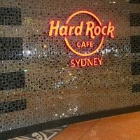 Photo taken at Hard Rock Cafe Sydney by Monna E. on 8/20/2012