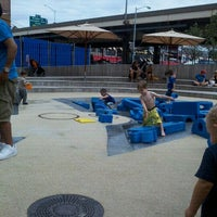 Photo taken at Imagination Playground at Burling Slip by Vanessa M. on 9/5/2011