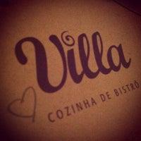 Photo taken at Villa Cozinha de Bistrô by Mariana M. on 7/1/2012
