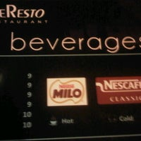 Photo taken at Le Resto (TDB) by Benni U. on 8/1/2012