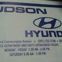 Photo taken at Hudson Hyundai by Danays R. on 7/3/2012