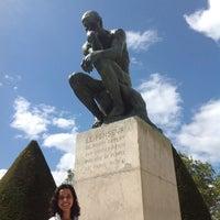 Photo taken at Jardin du Musée Rodin by Thábata A. on 8/26/2012