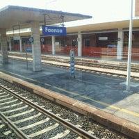 Photo taken at Stazione Faenza by Francesco G. on 8/17/2012