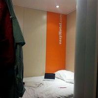 Photo taken at easyHotel Edinburgh by Ryoko C. on 4/8/2012