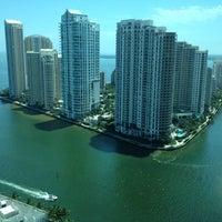Photo taken at JW Marriott Hotel Miami by Glen C. on 4/3/2012