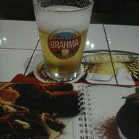 Photo taken at Quiosque Chopp Brahma by Armando S. on 7/18/2012