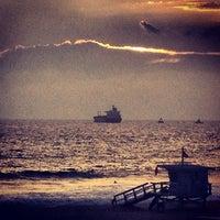Photo taken at El Porto Beach by Eddie on 8/4/2012