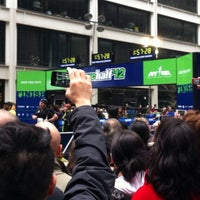 Photo taken at NYRR NYC Half 2012 - Finish Line by Brittany B. on 3/18/2012