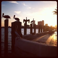 Photo taken at St. Petersburg Pier by Charlie S. on 3/14/2012