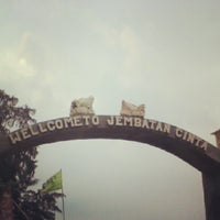 Photo taken at Jembatan Cinta by iradewi y. on 6/10/2012