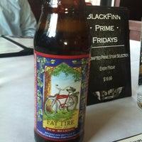 Photo taken at BlackFinn Restaurant & Saloon by Anthony C. on 4/24/2012