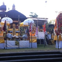 Photo taken at Pura Luhur Candi Narmada Tanah Kilap by Gustiyana on 7/3/2012