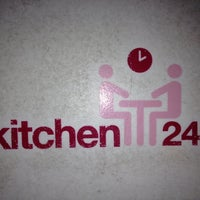 Photo taken at kitchen24 by Sam on 7/25/2012