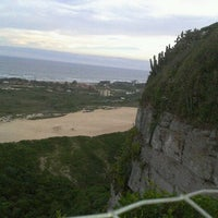 Photo taken at Farol do Morro dos Conventos by André B. on 4/24/2012