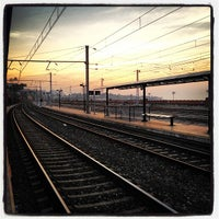 Photo taken at Tarragona Railway Station by Christian C. on 8/21/2012