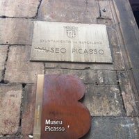 Photo taken at Picasso Museum by Ticiana C. on 3/25/2012