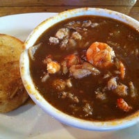 Photo taken at Boudreaux's Cajun Kitchen by Pong on 6/2/2012