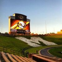 Photo taken at Faurot Field at Memorial Stadium by Shaun C. on 6/9/2012