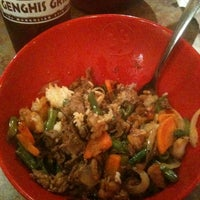 Photo taken at Genghis Grill by Nitia C. on 7/6/2011