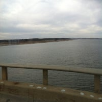Photo taken at Mile Long Bridge by Lauren B. on 11/12/2011