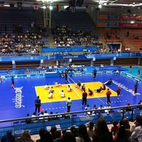 Photo taken at Complejo Panamericano de Voleibol by Kristopher A. on 11/14/2011