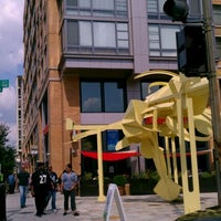Photo taken at Busboys and Poets by aisha1908 on 9/11/2011