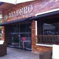 Photo taken at Madero Burger & Grill by Natalia O. on 4/15/2011