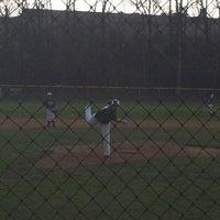 Photo taken at Tealtown Baseball Fields by Rhonda U. on 3/25/2012
