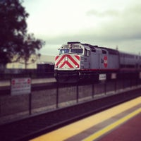 Photo taken at Hayward Park Caltrain Station by Harold C. on 2/10/2012