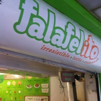 Photo taken at Falafelito by Mario L. on 3/16/2012
