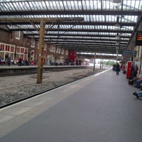 Photo taken at Stoke-on-Trent Railway Station (SOT) by Robert F. on 8/9/2012