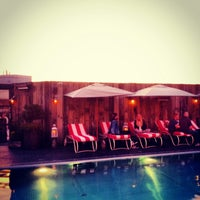 Photo taken at Shoreditch House by Omid A. on 9/6/2012