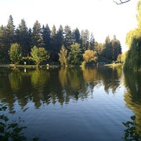 Photo taken at Manito Park by Leland H. on 7/26/2012