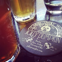 Photo taken at Jolly Pumpkin Cafe & Brewery by Kyle on 5/16/2012