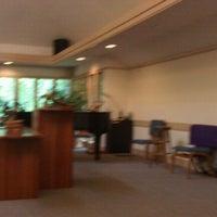 Photo taken at Unitarian Universalist Fellowship of Clemson by Jae J. on 5/13/2012