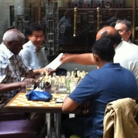 Photo taken at Café des Halles Saint-Géry by Mike S. on 7/7/2011