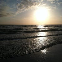 Photo taken at Fort Myers Beach by Abbey D. on 12/27/2011