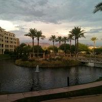 Photo taken at JW Marriott Phoenix Desert Ridge Resort & Spa by Matt W. on 8/17/2011