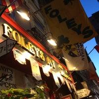 Photo taken at Foley's NY Pub & Restaurant by Alfredo G. on 6/8/2012