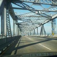 Photo taken at Richmond-San Rafael Bridge by Matthew R. on 1/29/2012