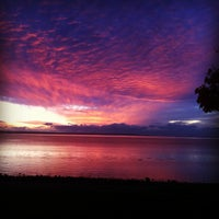 Photo taken at Crescent Beach by Sarah S. on 10/23/2011