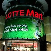 Photo taken at Lotte Mart by Téré B. on 3/17/2012