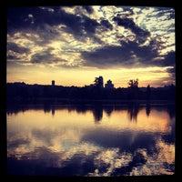 Photo taken at Lago de la Casa de Campo by Juan R. on 9/9/2012
