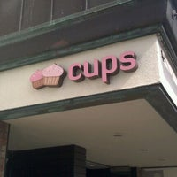 Photo taken at Cups Organic Cupcakes by Christiane .. on 5/12/2012