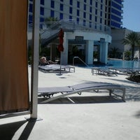 Photo taken at Hard Rock Hotel Pool by Mary V. on 8/24/2012